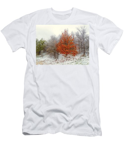 Fall And Winter Men's T-Shirt (Athletic Fit)