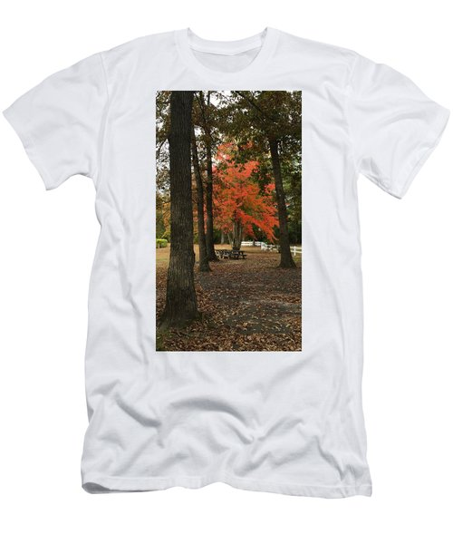 Fall Brings Changes  Men's T-Shirt (Athletic Fit)