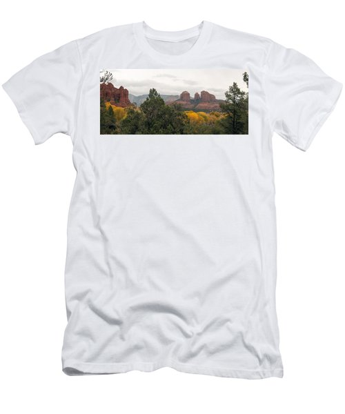 Fall Color Sedona 0495 Men's T-Shirt (Athletic Fit)