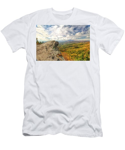 Fall From The Blowing Rock Men's T-Shirt (Athletic Fit)