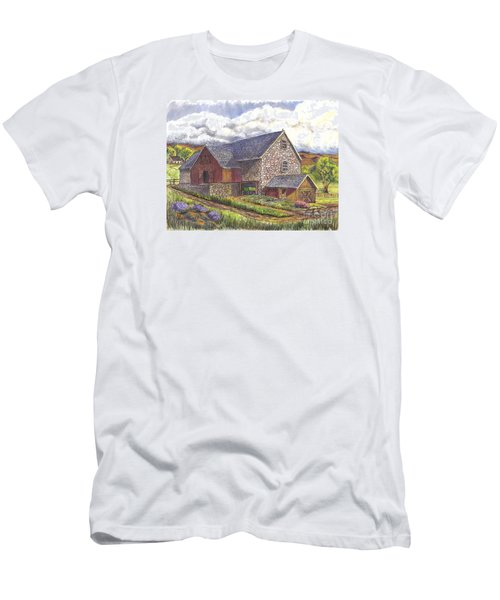 A Scottish Farm  Men's T-Shirt (Athletic Fit)