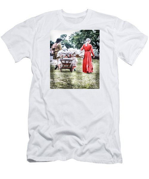 Men's T-Shirt (Athletic Fit) featuring the photograph Family Rollin' by Stwayne Keubrick