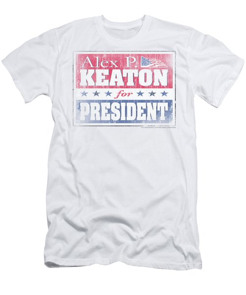Family Ties - Alex For President Men's T-Shirt (Athletic Fit)