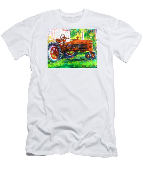 Farmall Tractor Men's T-Shirt (Athletic Fit)