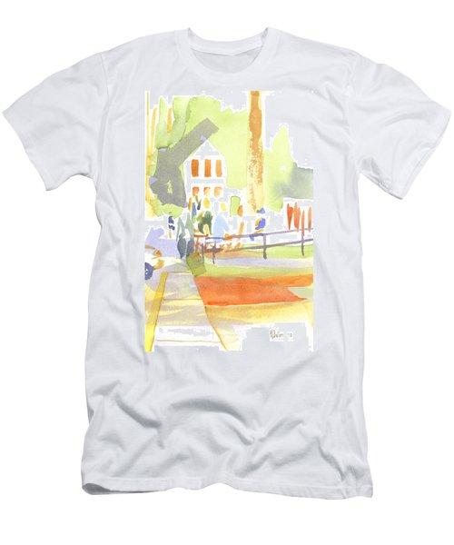 Farmers Market II  Men's T-Shirt (Slim Fit) by Kip DeVore