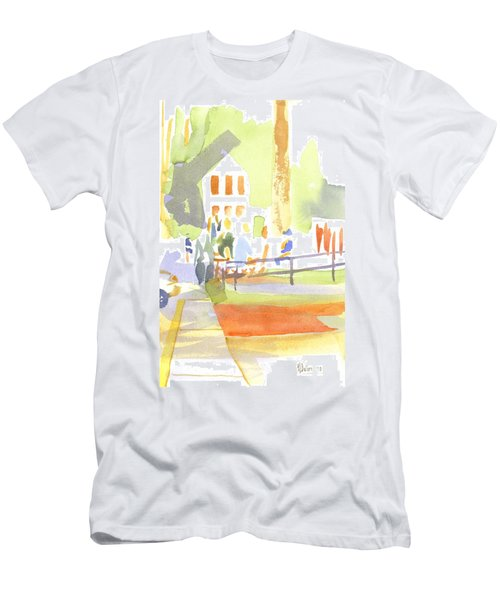 Farmers Market II  Men's T-Shirt (Athletic Fit)