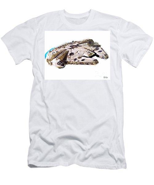 Millenium Falcon Men's T-Shirt (Athletic Fit)