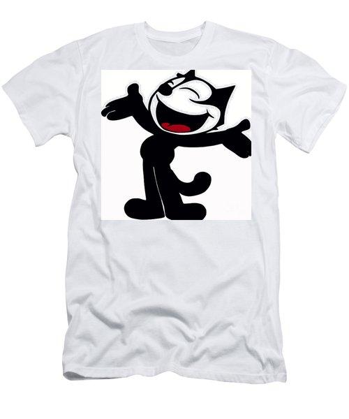 Felix The Cat Men's T-Shirt (Athletic Fit)