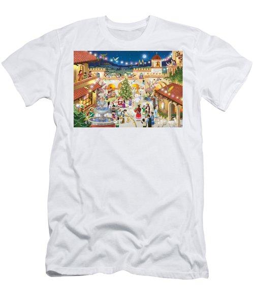 Festival Espanol De Navidad Men's T-Shirt (Athletic Fit)
