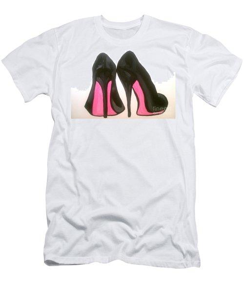 Fierce Men's T-Shirt (Slim Fit) by Marisela Mungia