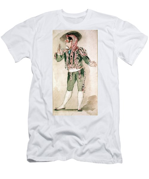 Figaro/barber Of Seville Men's T-Shirt (Athletic Fit)
