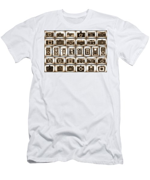 Film Camera Proofs Men's T-Shirt (Athletic Fit)
