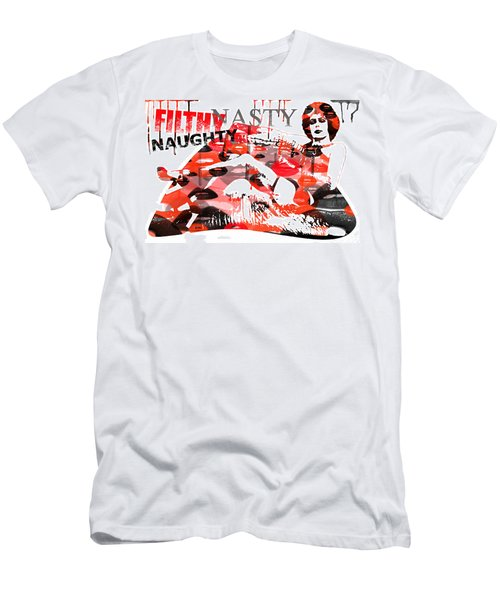 Filthy Nasty Naughty Men's T-Shirt (Athletic Fit)