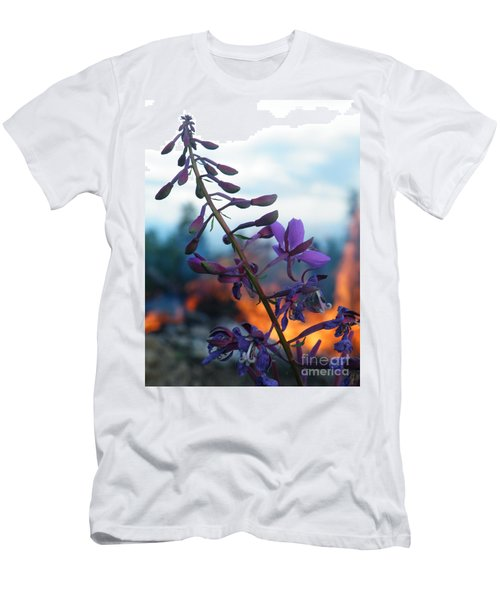 Fireweed Number Five Men's T-Shirt (Slim Fit) by Brian Boyle