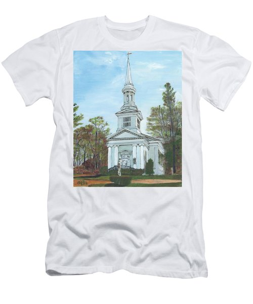 First Church Sandwich Ma Men's T-Shirt (Athletic Fit)