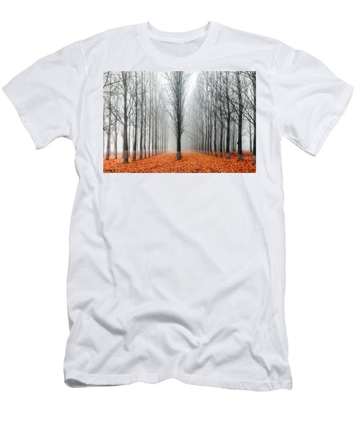 First In The Line Men's T-Shirt (Athletic Fit)