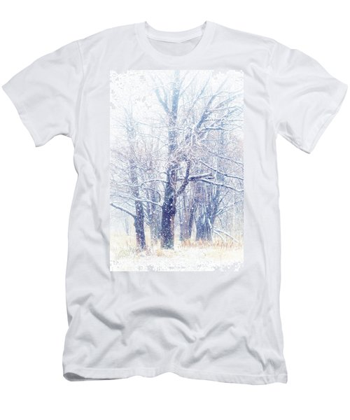 First Snow. Dreamy Wonderland Men's T-Shirt (Athletic Fit)