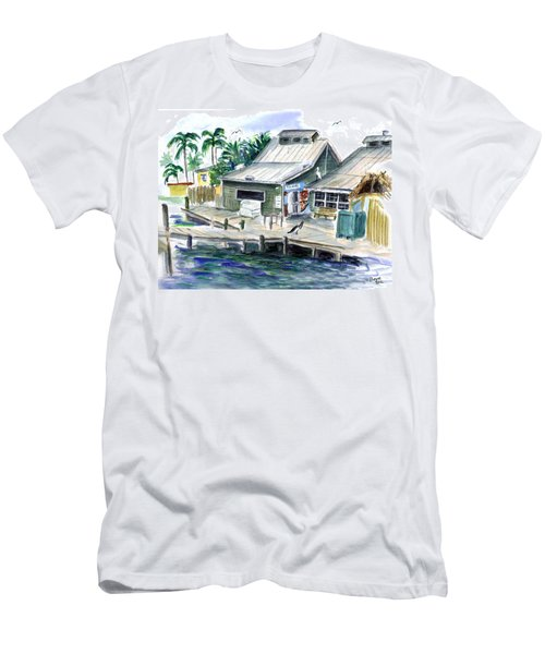 Fish House Men's T-Shirt (Athletic Fit)