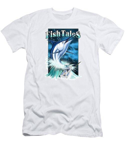 Fish Tales Men's T-Shirt (Athletic Fit)