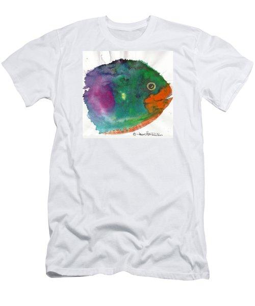 Fishy Men's T-Shirt (Slim Fit) by Joan Hartenstein