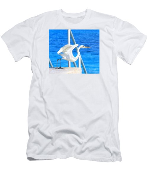 Flaps Up Men's T-Shirt (Slim Fit) by Patti Whitten