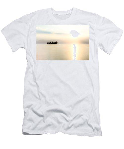 Flathead Sunrise Men's T-Shirt (Athletic Fit)