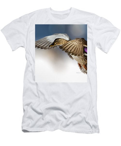 Flight Of The Mallard Men's T-Shirt (Athletic Fit)