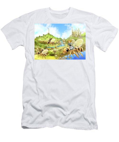 Flight Over Capira Men's T-Shirt (Slim Fit) by Reynold Jay