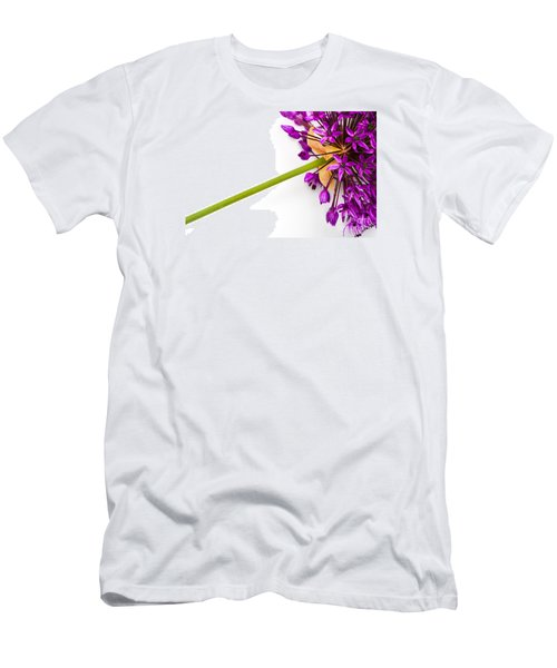 Flower At Rest Men's T-Shirt (Athletic Fit)
