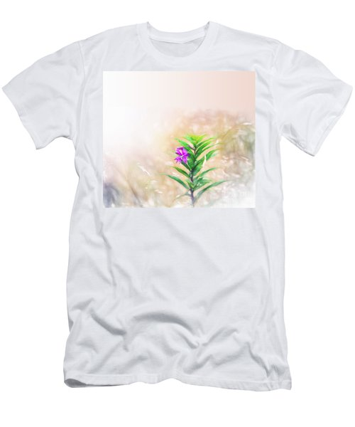 Flower In Watercolor Duvet Men's T-Shirt (Athletic Fit)