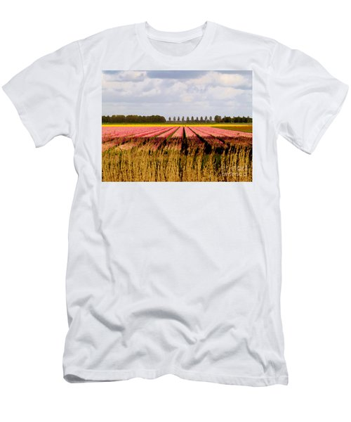 Men's T-Shirt (Athletic Fit) featuring the photograph Flower My Bed by Luc Van de Steeg