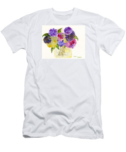Flowers For Joyce Men's T-Shirt (Slim Fit) by AFineLyne
