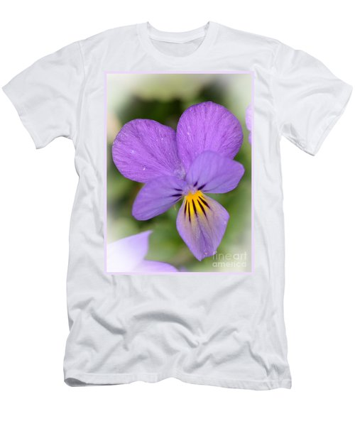 Flowers That Smile Men's T-Shirt (Athletic Fit)