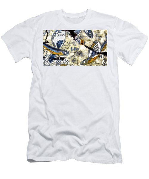 Flying Fish No. 3 - Study No. 2 Men's T-Shirt (Athletic Fit)