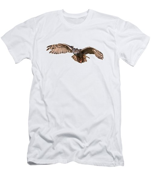 Flying Owl Men's T-Shirt (Athletic Fit)