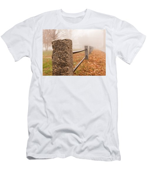 Foggy Morning In Ellington Men's T-Shirt (Athletic Fit)
