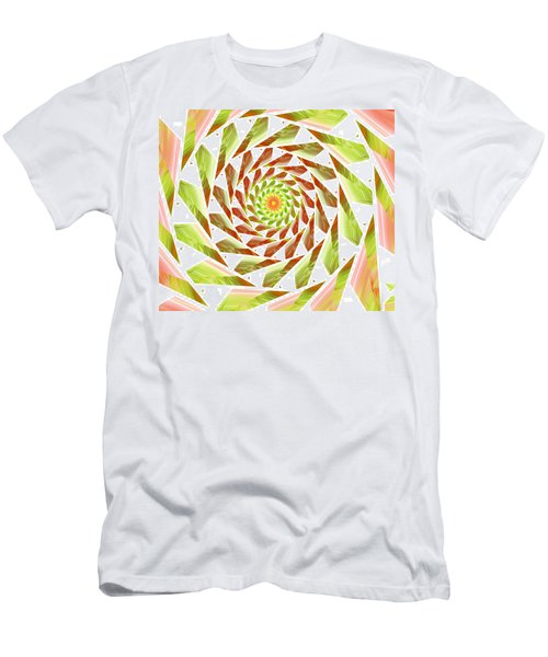 Men's T-Shirt (Slim Fit) featuring the digital art Abstract Swirls  by Ester  Rogers