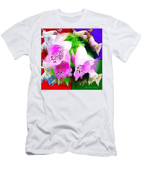 Flowers For Andy Men's T-Shirt (Athletic Fit)