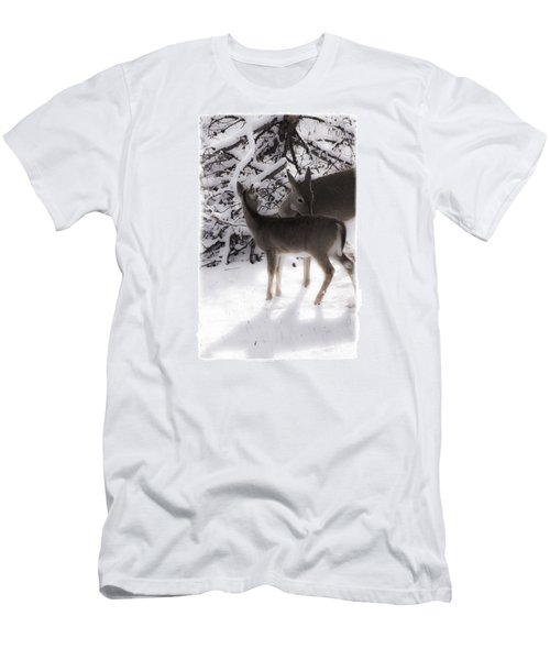 Men's T-Shirt (Slim Fit) featuring the photograph For The Love by Janie Johnson