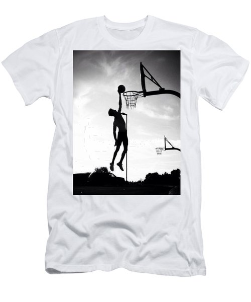 For The Love Of Basketball  Men's T-Shirt (Athletic Fit)