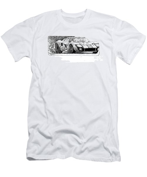 Ford Gt - 40 Men's T-Shirt (Athletic Fit)