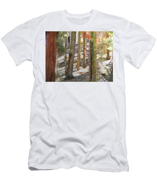 Forest For The Trees Men's T-Shirt (Slim Fit) by Jeff Kolker