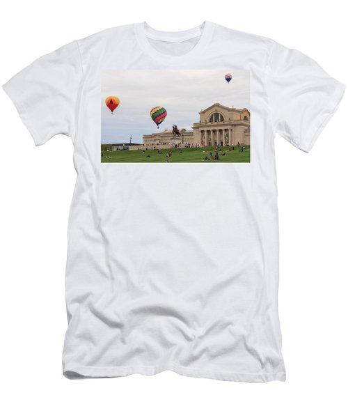 Forest Park Balloon Race Men's T-Shirt (Athletic Fit)