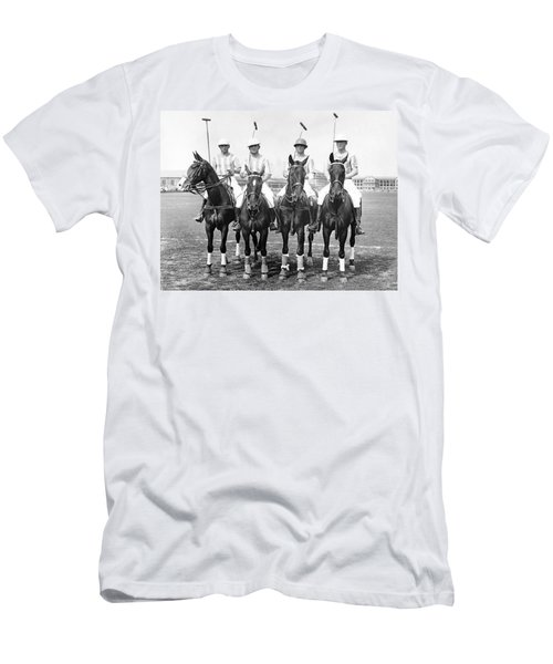 Fort Hamilton Polo Team Men's T-Shirt (Athletic Fit)