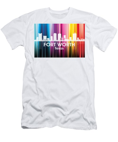 Fort Worth Tx 2 Men's T-Shirt (Athletic Fit)