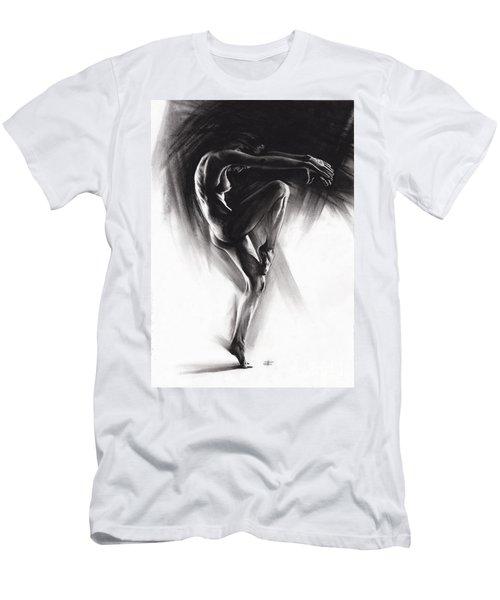 Fount II Men's T-Shirt (Slim Fit) by Paul Davenport
