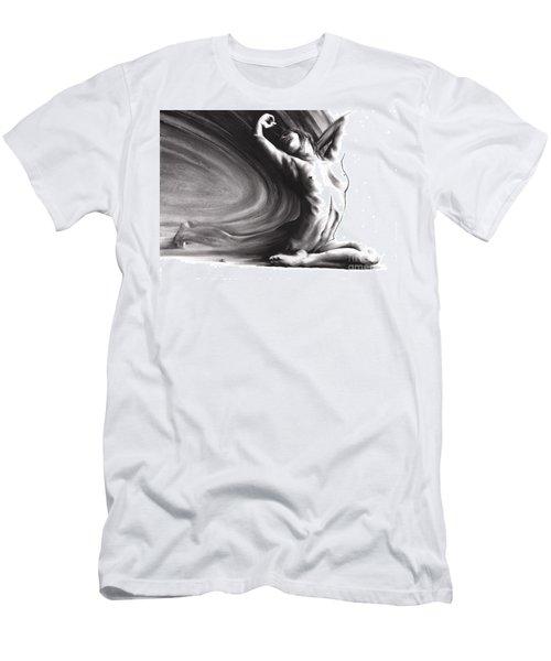 Fount Iv Men's T-Shirt (Slim Fit) by Paul Davenport