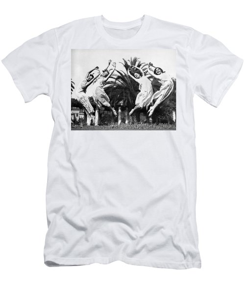 Four Leaping Grecian Dancers Men's T-Shirt (Athletic Fit)