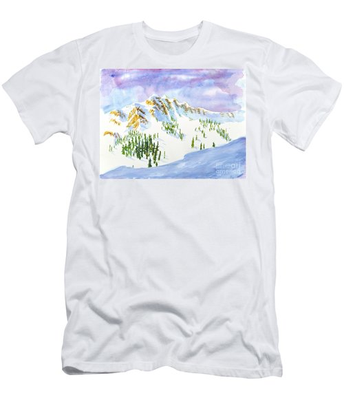 Four Sisters At Snowbasin Men's T-Shirt (Athletic Fit)