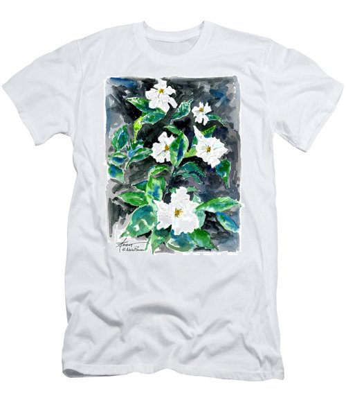 Fragrant Beauty  Men's T-Shirt (Athletic Fit)